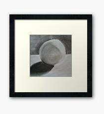 soft sphere Framed Print