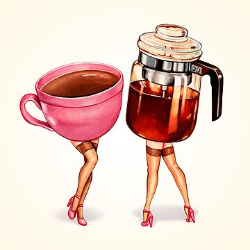 Coffee Girl Pin-Ups by KellyGilleran