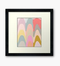 Abstract Shapes Painting Framed Print