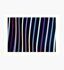 Stripes in Motion #1 Art Print