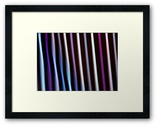 Stripes in Motion #2 by Kitsmumma