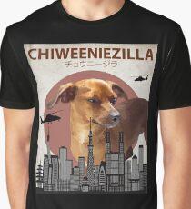 Chiweeniezilla - Chiweenie Chihuahua Dachshund  Dog Giant Monster Graphic T-Shirt