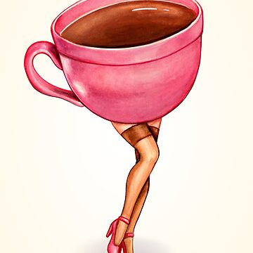 Coffee Pin-Up by KellyGilleran