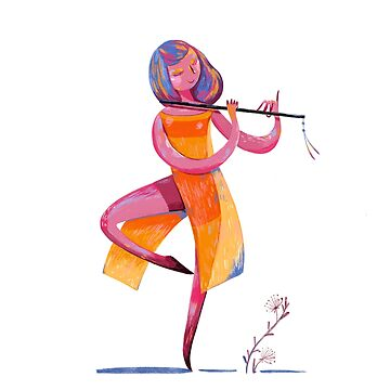 dancer with flute by daolinh
