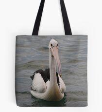 Lonely pelican Tote Bag