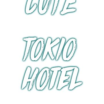CUTE and TOKYO HOTEL fan (white) by eileendiaries