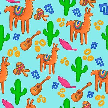Llama Party by jsivart