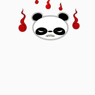 Angry Panda by lemwell