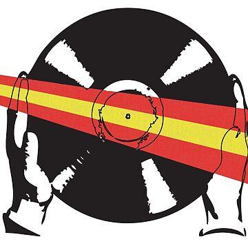 Spanish Flag Vinyl by McFrys