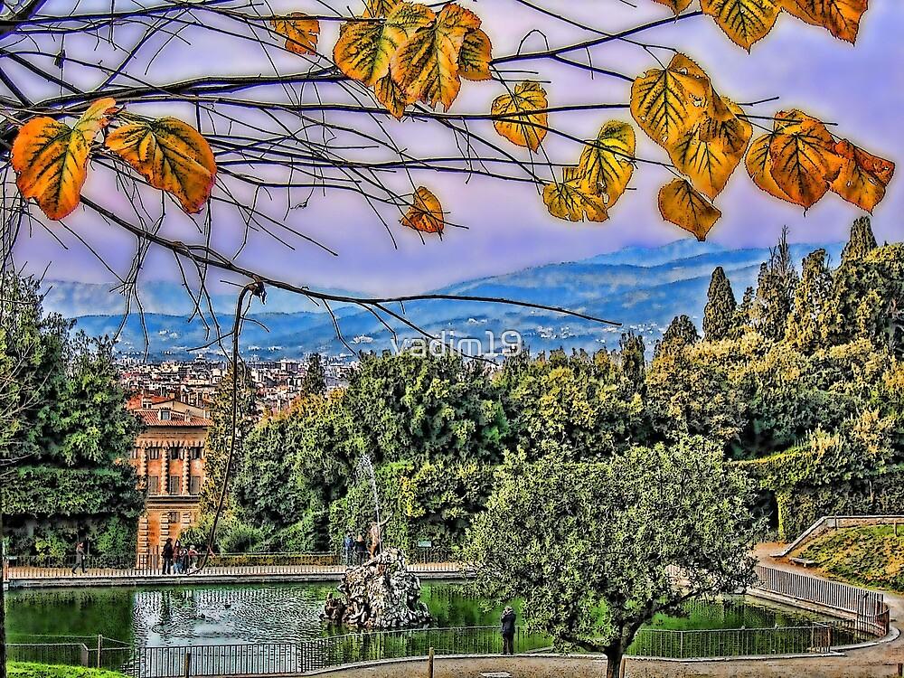 Boboli Gardens, Florence, Italy by vadim19