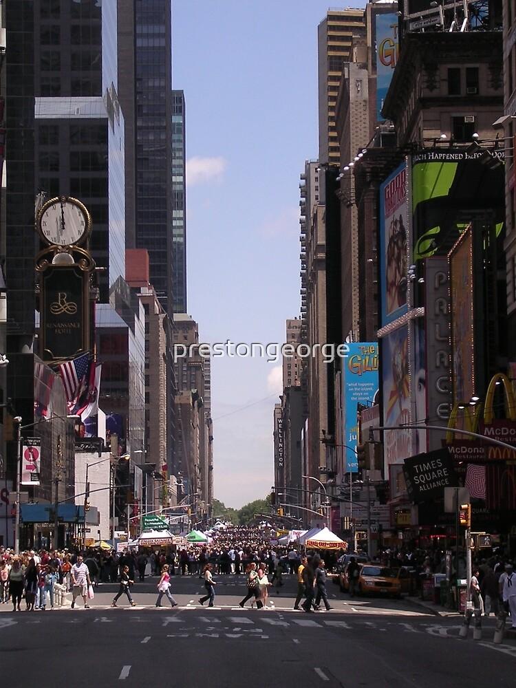 NYC 7th Avenue. by prestongeorge