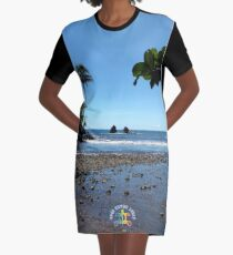 AHT - River At The Bottom Of The Donkey Trail Graphic T-Shirt Dress