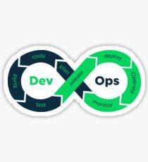 DevOps flow Sticker
