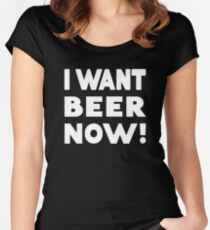 Beer pub holiday St. Patricks day Women's Fitted Scoop T-Shirt