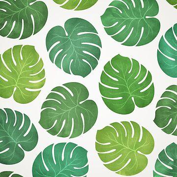 Tropical Leaves by RikDrawsThings