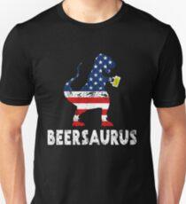 Beer Saurus Rex US Unisex T-Shirt
