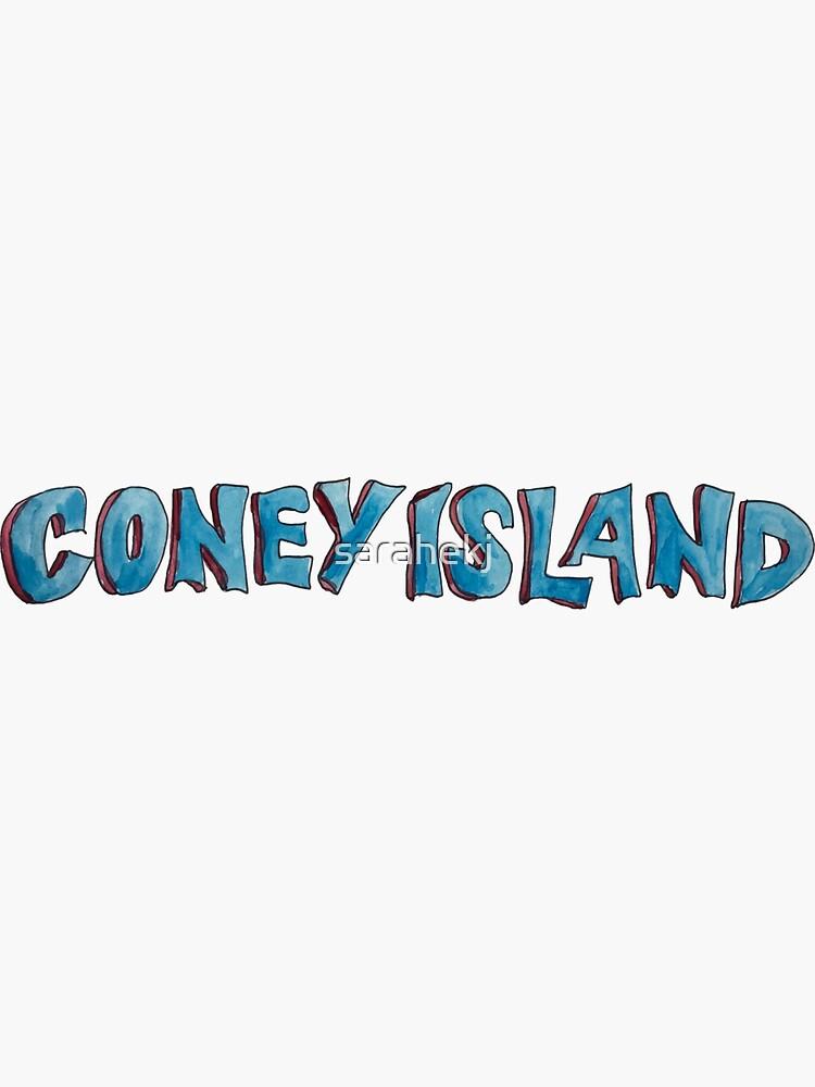 Coney Island NYC lettering by sarahekj