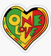 One Love Sticker