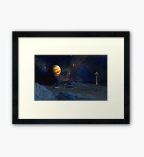 Galilean moons Framed Print