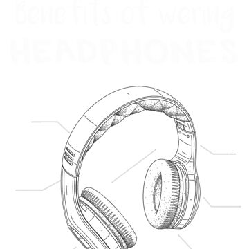 Headphones by RoyalT-shirts