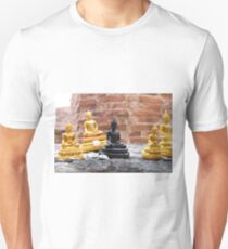 Monk in the land of smiles Unisex T-Shirt