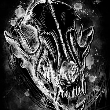 Dog Skull Constellations  by CJOrazi