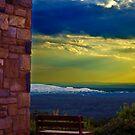 On the hill of  Quabbin Reservoir by LudaNayvelt
