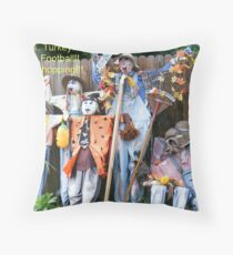 Cheering Squad Throw Pillow