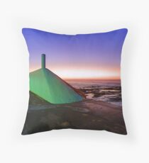 My Green Submarine Throw Pillow