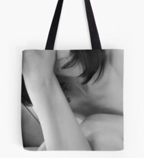 Exhaustion - Self Portrait Tote Bag