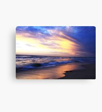 Secret Harbour Sunset Canvas Print
