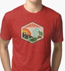 Yellowstone National Park Tri-blend T-Shirt