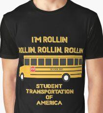 School bus Graphic T-Shirt