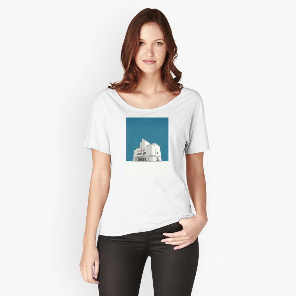 ODEON Balham Women's Relaxed Fit T-Shirt Front