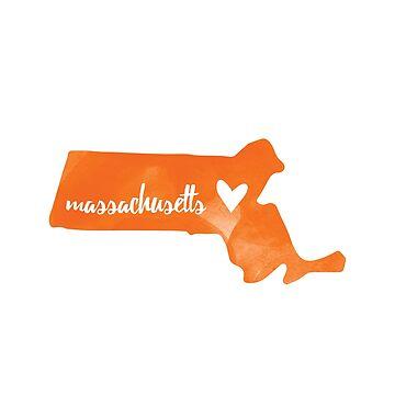 Massachusetts - naranja de gracehertlein