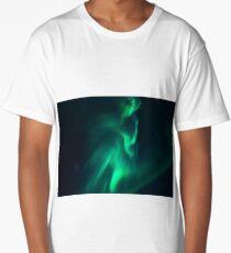 Northern lights Aurora Long T-Shirt