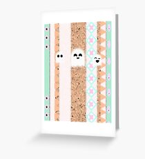 Aztec Ghosts Greeting Card