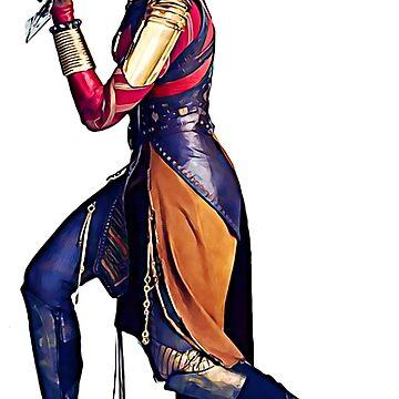 Warrior Woman by ledbytheunknown