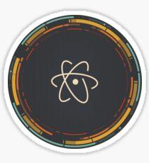 Atom Editor Sticker