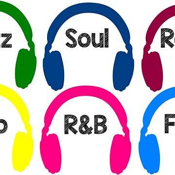 Eclectic Music by RoyalT-shirts