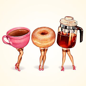 Coffee Pin-Ups by KellyGilleran