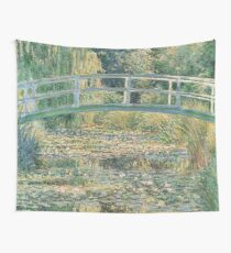 HD. The Water Lily Pond, by Claude Monet. HIGH DEFINITION  Wall Tapestry