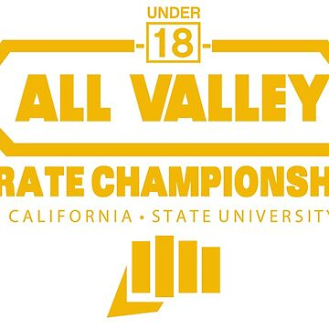 All Valley Karate Tournament 84 in YELLOW by superiorgraphix