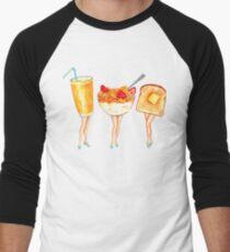 Breakfast Pin-Ups Men's Baseball ¾ T-Shirt