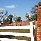 Mount Vernon's Bricks and White Fences by Cora Wandel