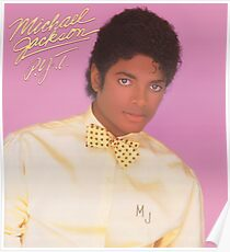 Michael Jackson PYT bad thriller Poster