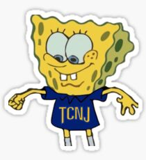 Spongebob TCNJ Sticker