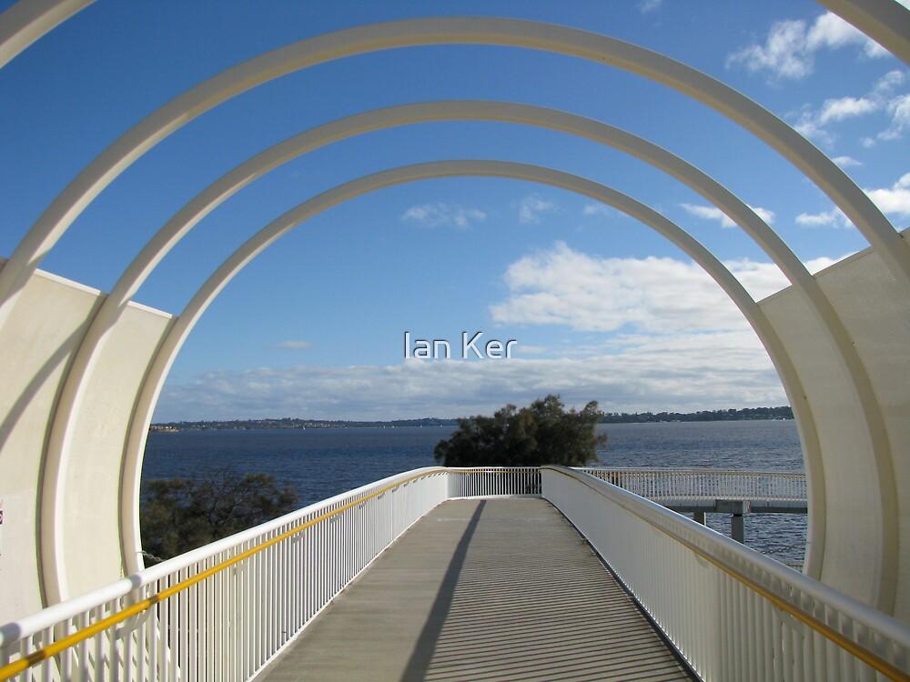 Como Bridge to Swan River (2) by Ian Ker