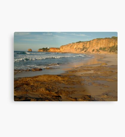 Morning, Split Point,Great Ocean Rd Metal Print