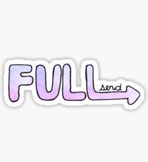 Full Send it Sticker